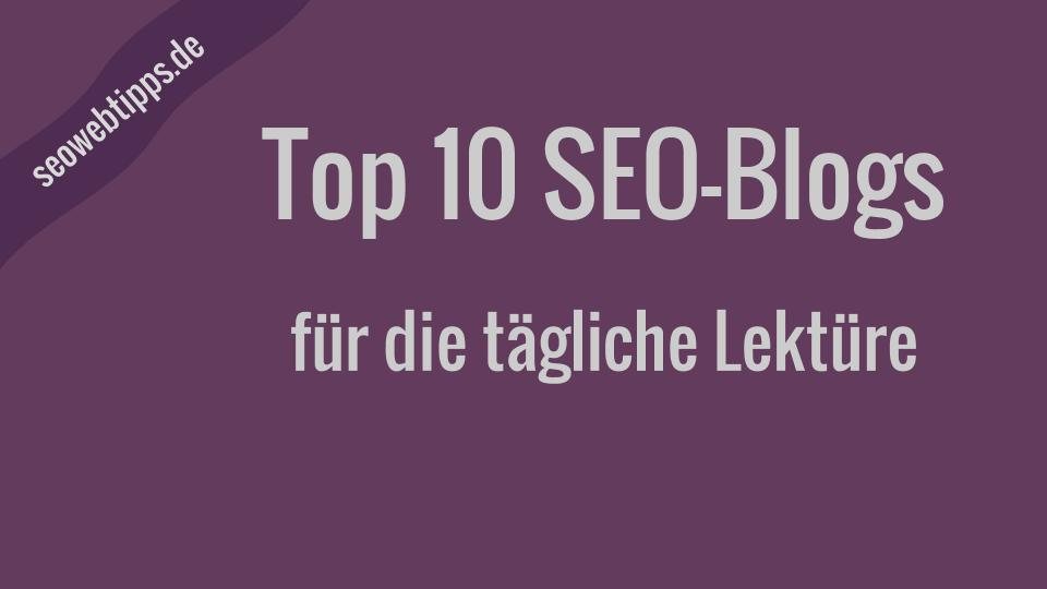 Seo-Blogs-Top-10-Linkliste-Quicklinks