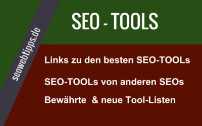 SeoTools – Linksammlungen für Seo-Werkzeuge